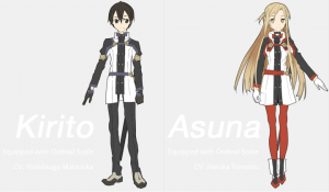 Kirito und Asuna in Ordinal Scale
