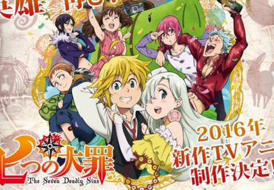 Nanatsu no Taizai – Dritte Staffel wurde offiziell angekündigt