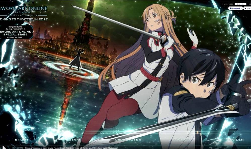 Neuer Trailer Zum Anime Film Sword Art Online The Movie Ordinal