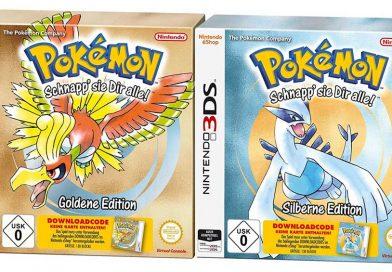 Trailer zu den Neuauflagen von Pokémon Gold und Silber Editionen veröffentlicht!