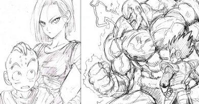 One Punch Man Mangaka zeichnet Dragon Ball Z Charaktere im OPM-Stil!