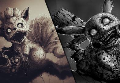 Künstler macht aus süßen Pokémon gruselige Monster!