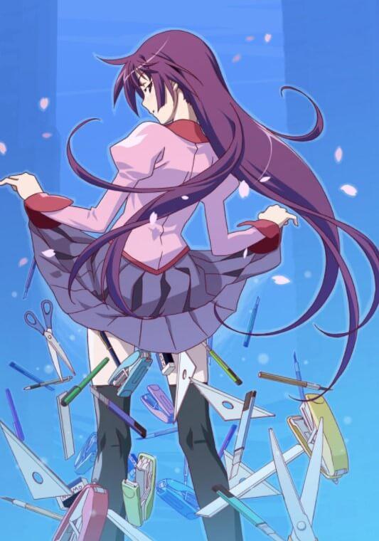 Das Cover vom Anime aBakemonogatari