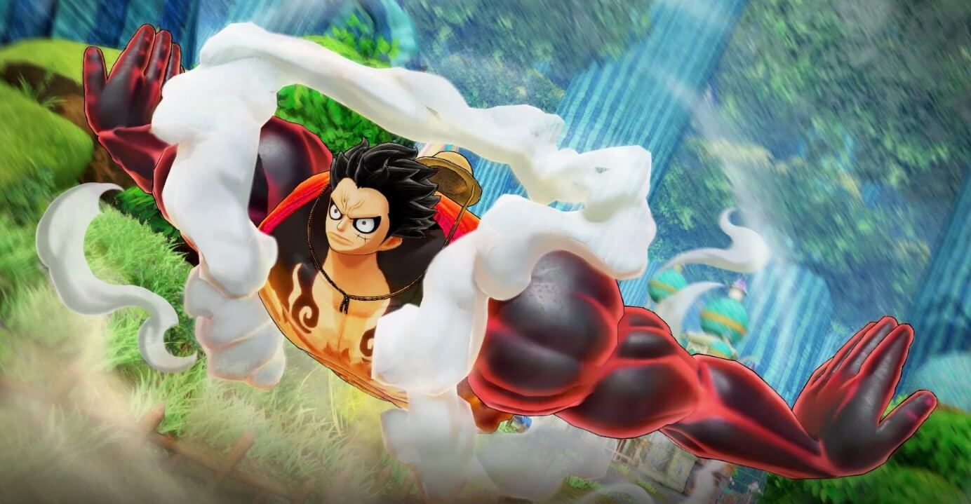 Luffy in One Piece: Private Warriors 4