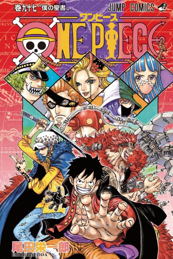 Cover vom 97. Band vom Manga One Piece