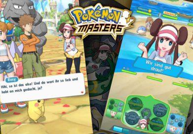Pokémon Masters bringt Gefährten-Kämpfe auf iOS und Android
