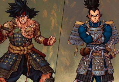 Dragonball: Künstler illustriert Charaktere als Samurai