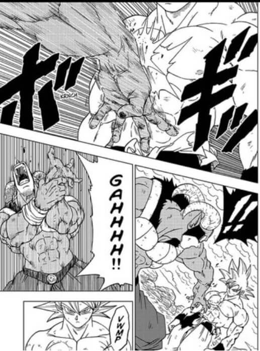 Son Goku zeigt seine neue Ultra Instinkt Fähigkeit 2/2