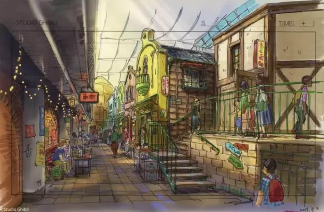 Studio Ghubli Themenpark - (c) Studio Ghibli