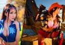 Junge Dame macht wunderschöne One Piece-Cosplays!