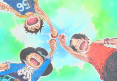 Eiichirō Oda zeigt wie Luffy, Ace und Sabo als Marinesoldaten ausgesehen hätten!