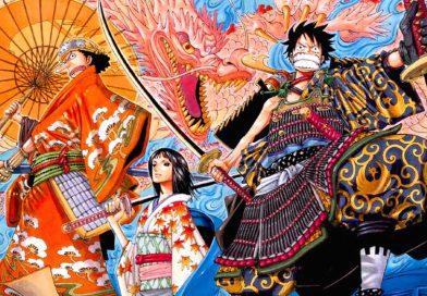 One Piece: Erste Charakterskizzen zum Wano Kuni-Arc enthüllt