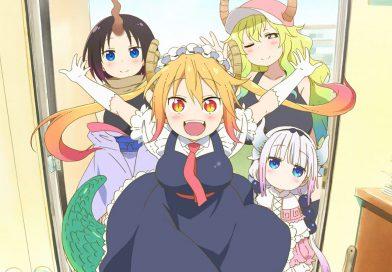 Kobayashi san no Maid Dragon erhält eine 2. Staffel!